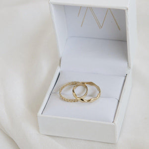 Load image into Gallery viewer, 14 karat Gold Henne Ring