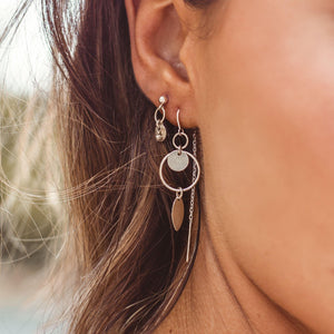 Jada Earrings Sterling Silver