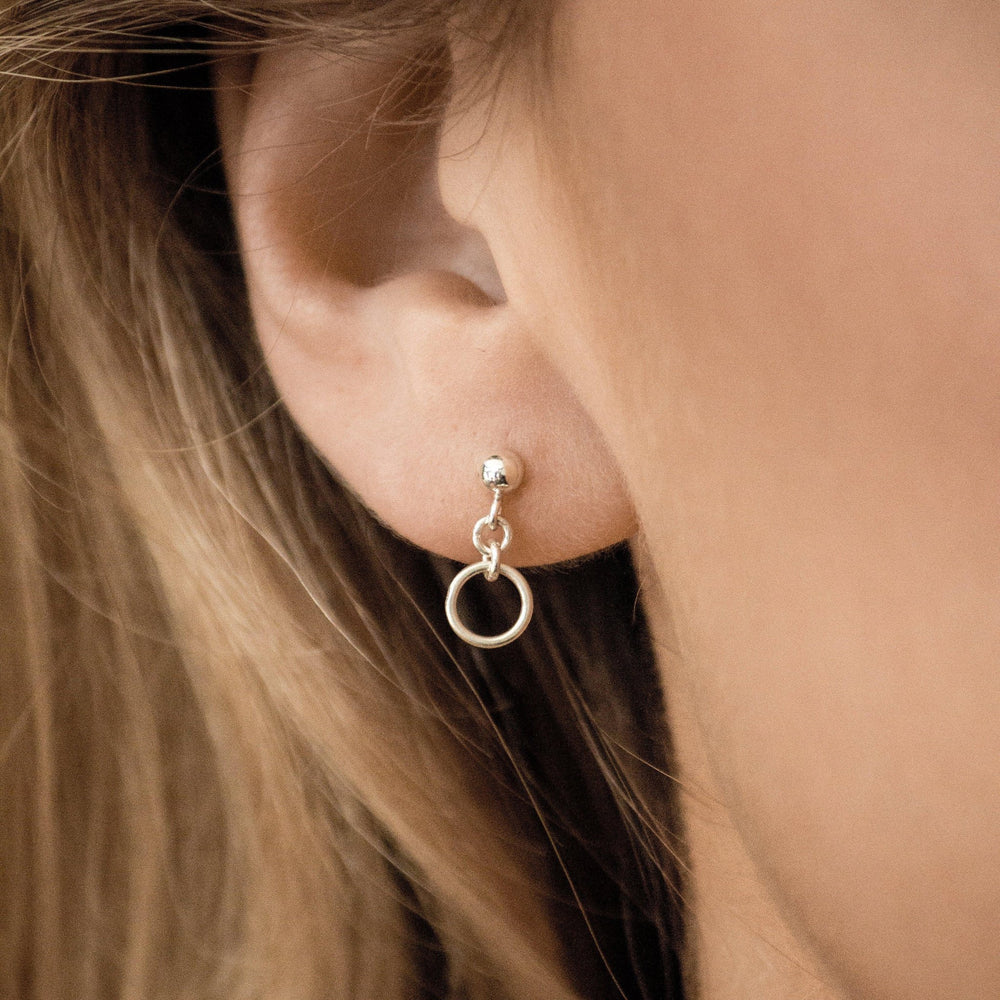 Load image into Gallery viewer, Cora Earrings Sterling Silver