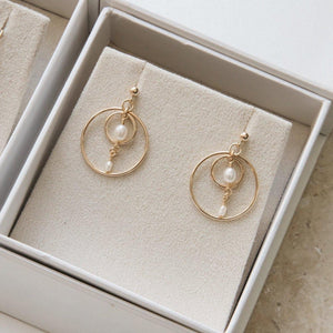 Load image into Gallery viewer, Marla Earrings Gold