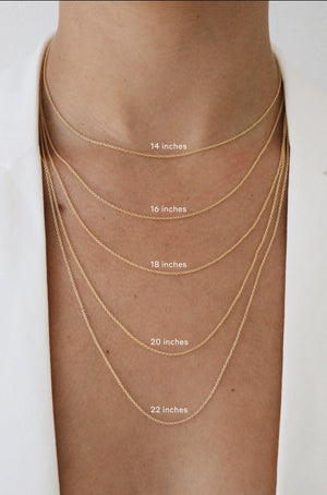 Load image into Gallery viewer, Letter Necklace Gold