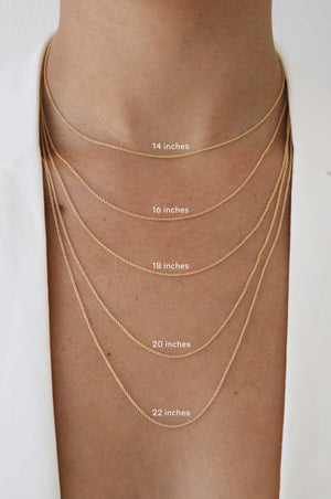 Load image into Gallery viewer, 14 Karat Gold Bar Necklace