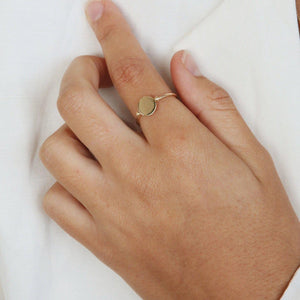 Load image into Gallery viewer, 14 karat Gold Elro Ring
