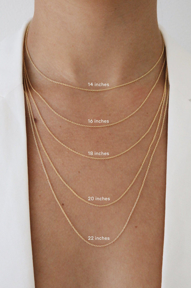 Load image into Gallery viewer, Figaro Chain Necklace Gold