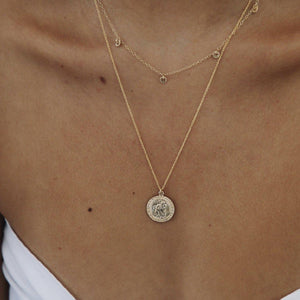 Load image into Gallery viewer, St Christopher Necklace 1.0