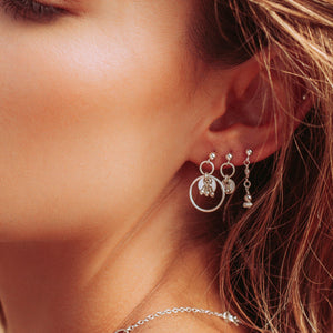 Zuir Earrings Sterling Silver