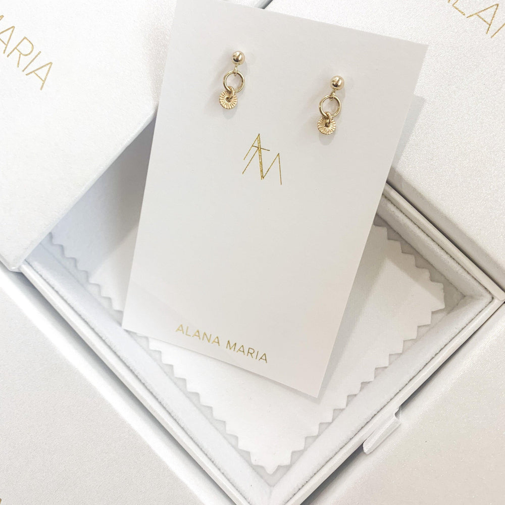 Caia Earrings Gold