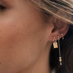 Tara Earrings Gold