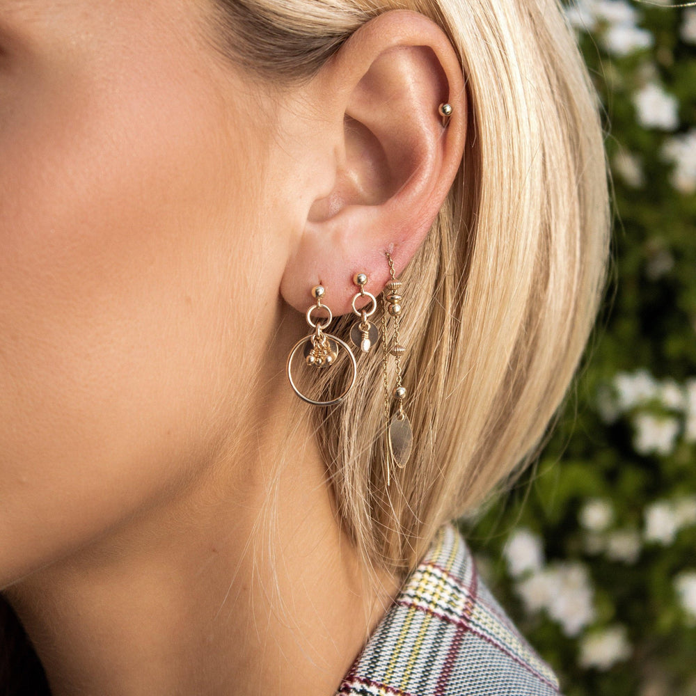Load image into Gallery viewer, Zuir Earrings Gold