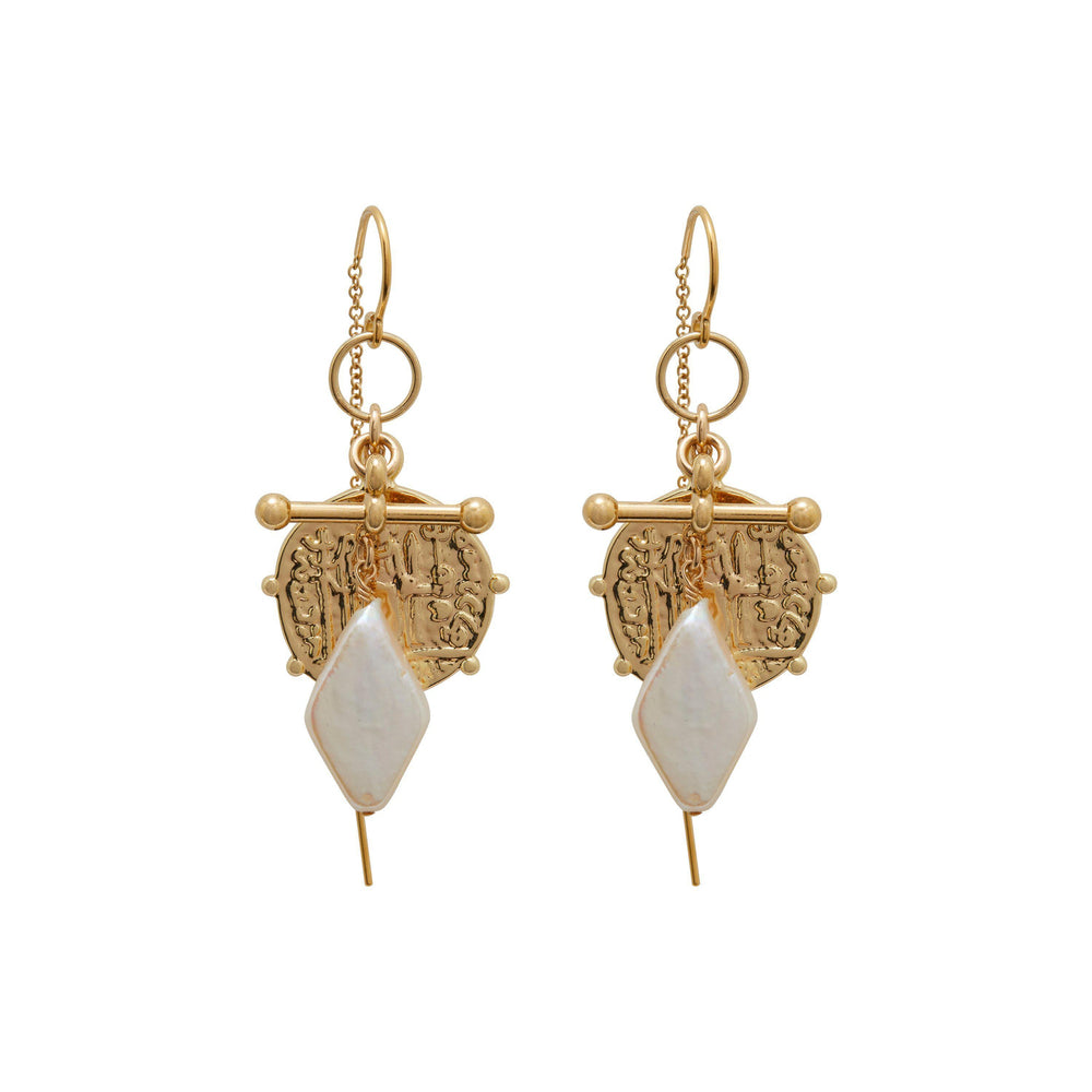 Jéan Earrings Gold