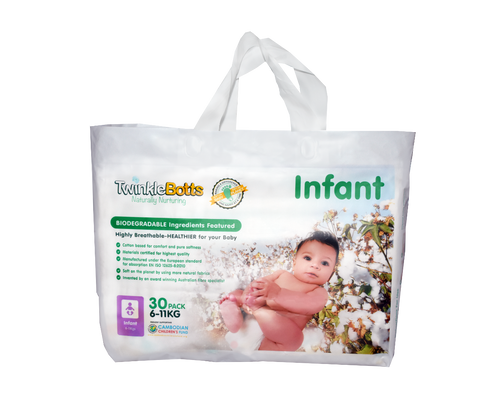Infant Nappy(6-11 Kg) - Twinklebotts