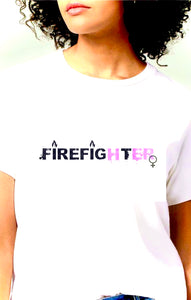 FirefigHtER Round Neck T-Shirt