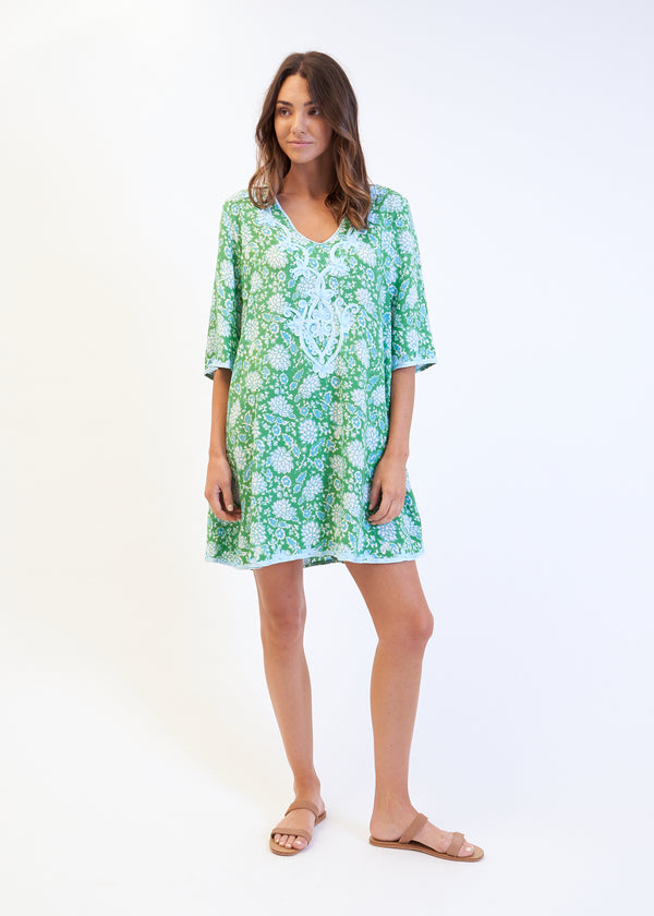 SWING ROCCO DRESS - GREEN