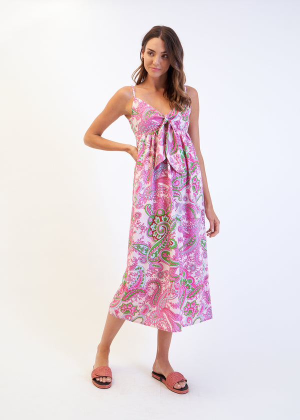 TIE STELLA DRESS - PINK