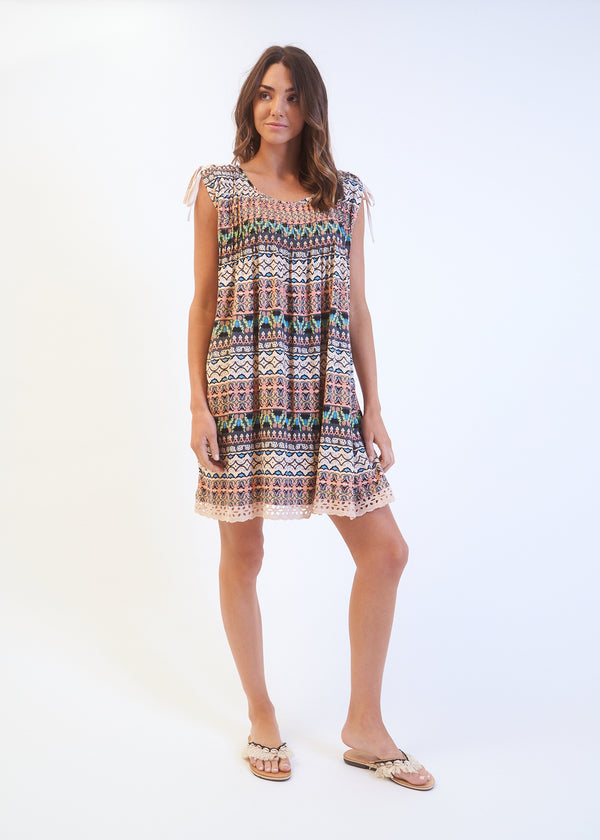 KENDALL DRESS - Clay