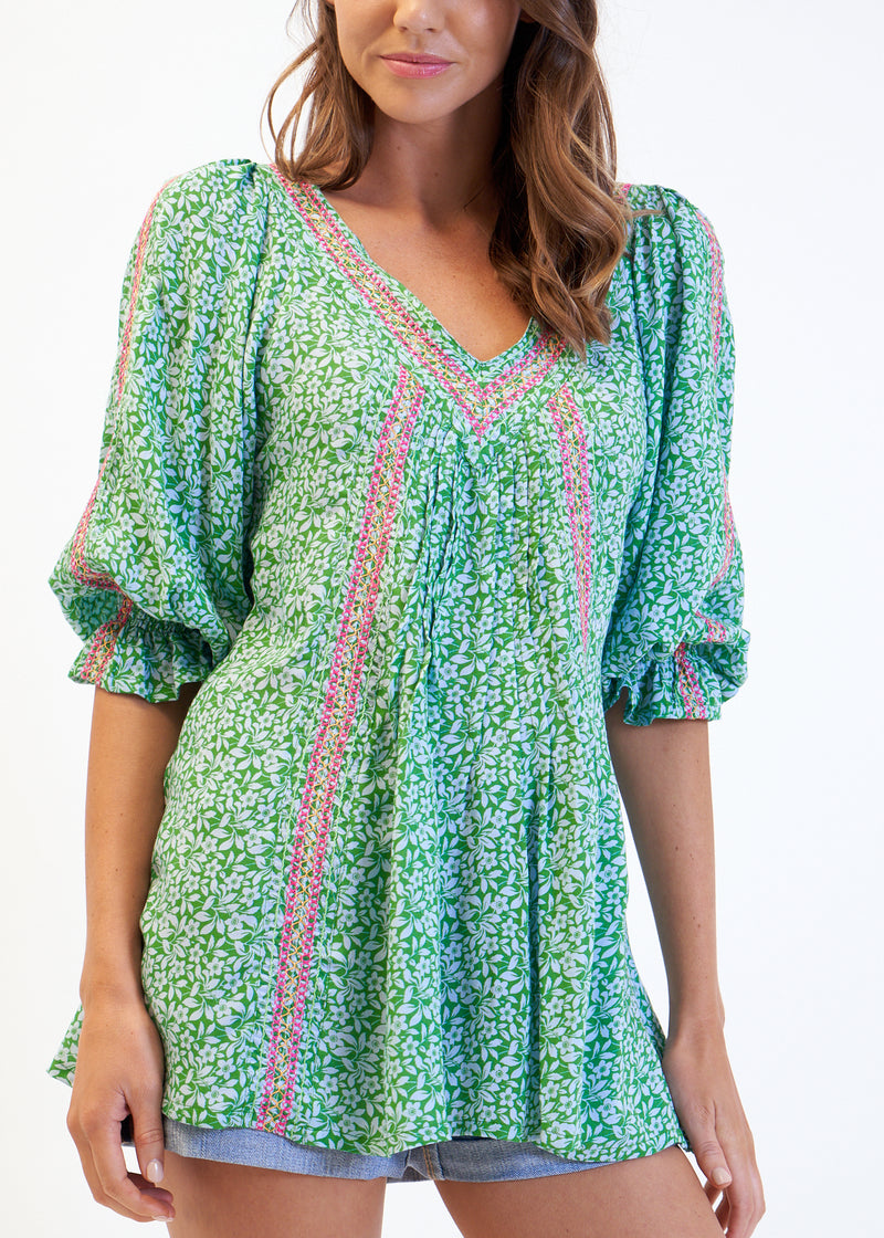SASA TOP - GREEN