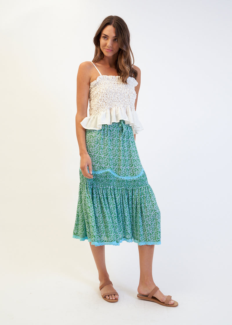 FRIDA SKIRT - GREEN