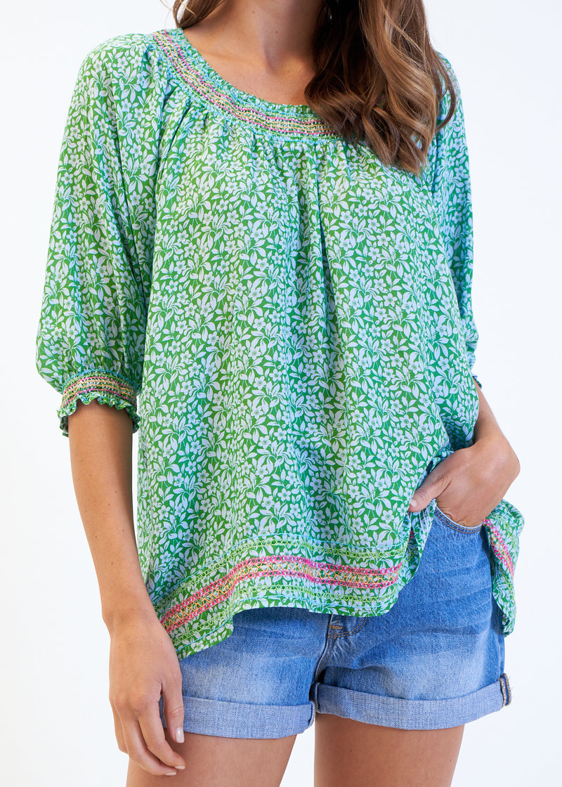 JONI TOP - GREEN