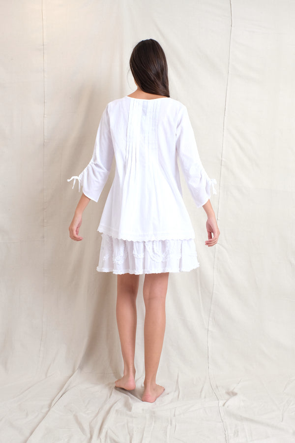 BETSY BLOUSE - White