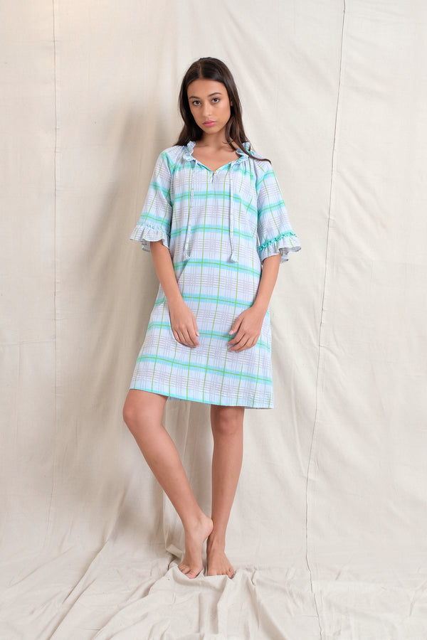 AMELIE DRESS - Blue