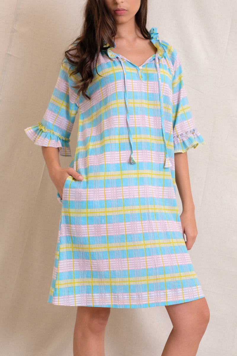 AMELIE DRESS - Multi