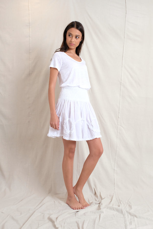 AMELIE SKIRT- White