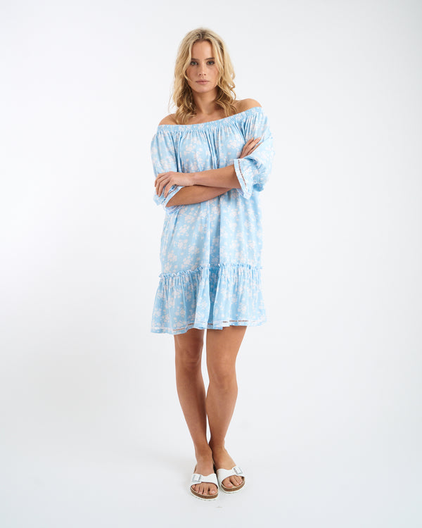ELSA FOLK DRESS - Pale Blue