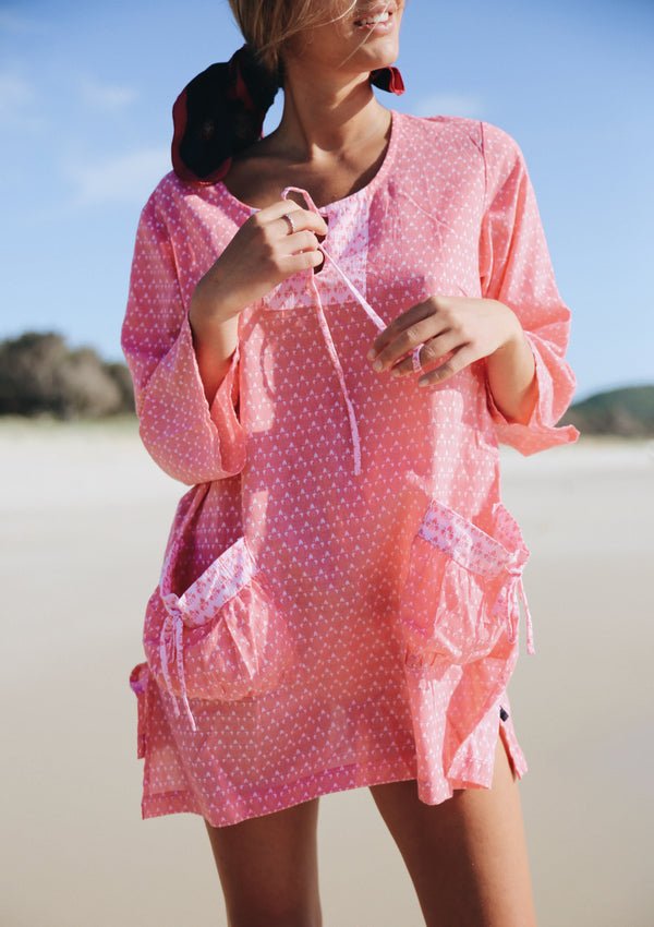 SUMMER KAFTAN - WATERMELON