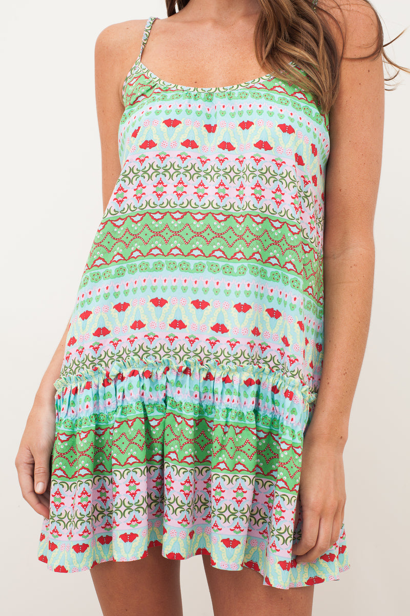 MIMI ROSE DRESS - Green