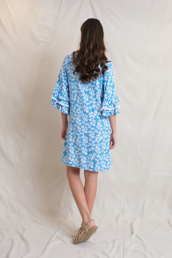 COCO SWING DRESS - Sea