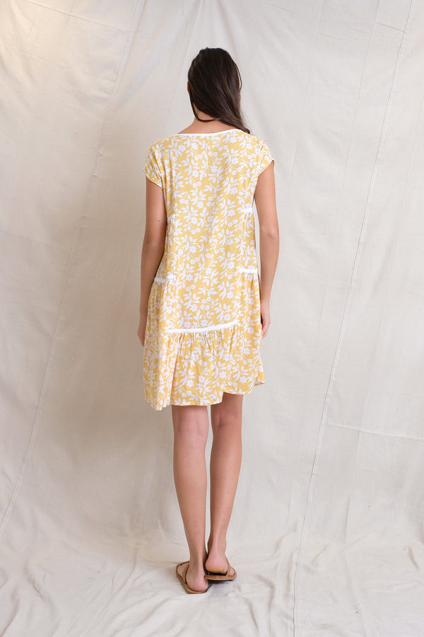 TIE LULA DRESS - Sun