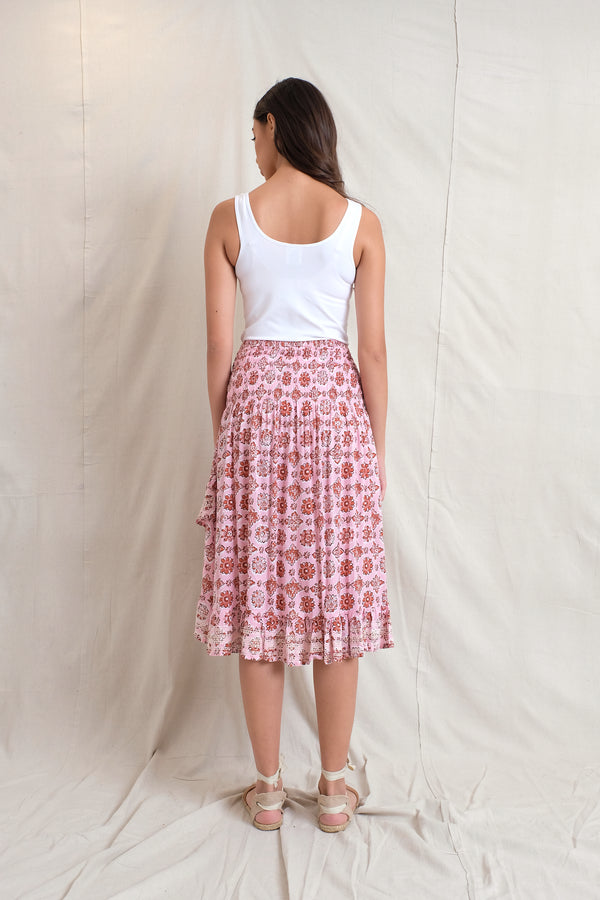 IVY SKIRT - Raspberry