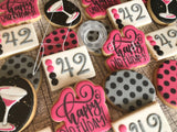 Custom Decorated Sugar Cookies Starting at $43/dozen