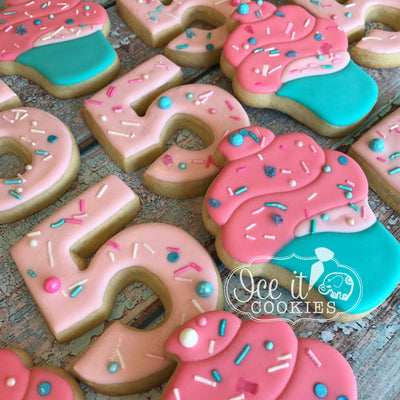 Cotton Candy Sprinkle Cookies