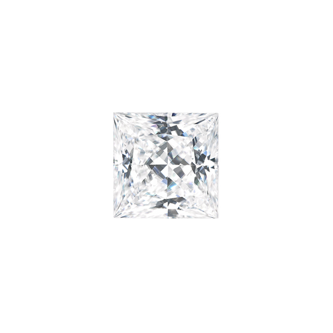 Princess Cut Moissanite