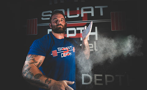 Debut Squat 2 Depth T Shirt - Squat 2 Depth Apparel