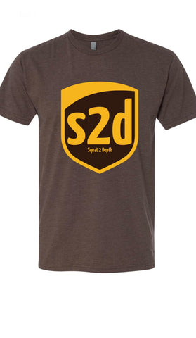 S2D Depth Always Delivered Shirt - Squat 2 Depth Apparel