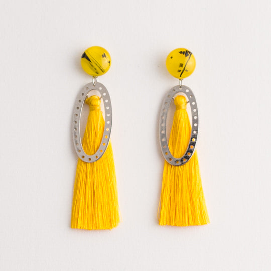 Carousel Tassel Earrings