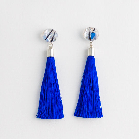 Sapphire Sparkle Earrings