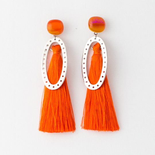 Zinger Sweet Tassel Earrings