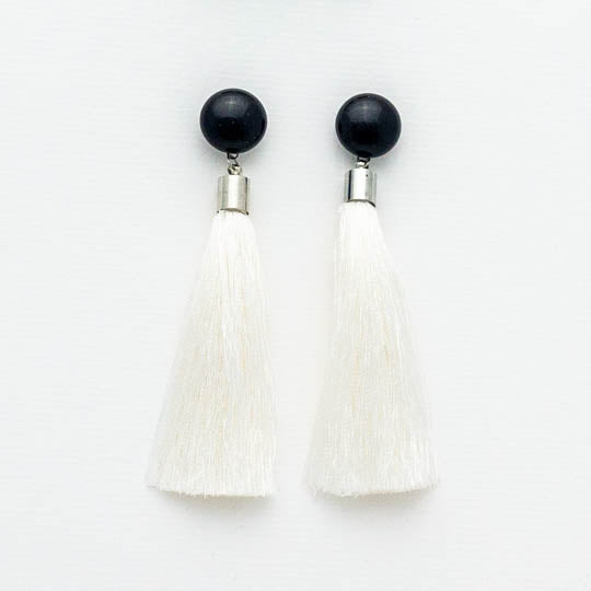 Domino Tassel Earrings