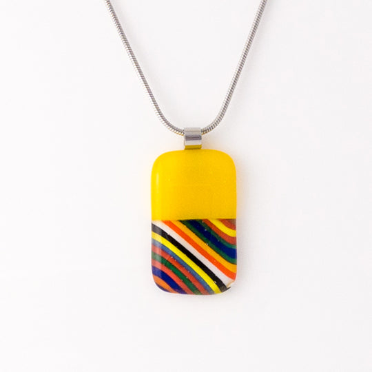 Golden Rainbow Pendant