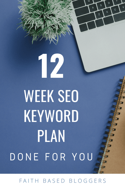 12 Week SEO Customized Keyword Plan