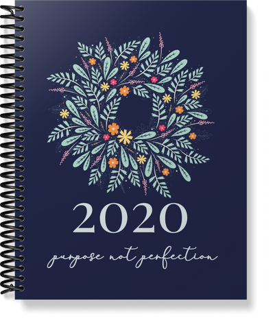 Spiral Bound: 2020 Wreath Homemaking Planner | 8.5 x 11 size