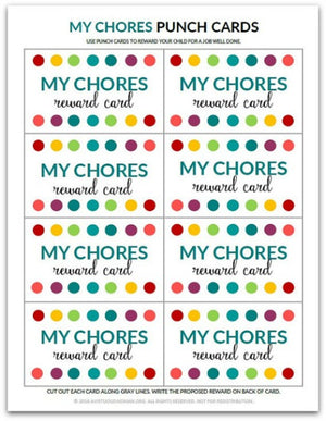 Chore Chart Bundle for Kids