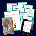 Housekeeping 101 Binder Bundle | Step by Step Housekeeping Guide | 30 Pages + eBook