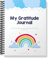 Weekly Gratitude Journal for Kids | 54 pages | PDF