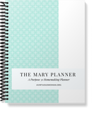 The Simplified Mary Planner | Black & White | 182 Pages | PDF