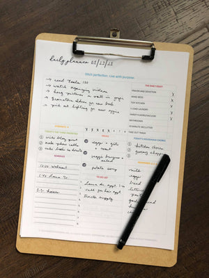 Purpose 31 Daily Planner | PDF