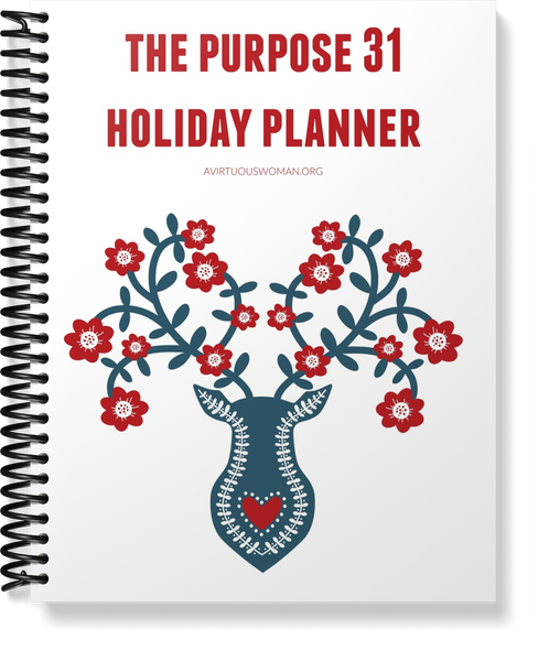 Undated | Scandinavian Holiday Planner | 120 Pages | 8.5 x 11 size